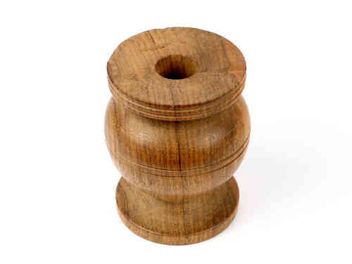 Wooden support for prayer wheel - large.