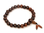 Mala bracelet in rose wood.