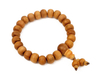 Mala bracelet in sandal wood.