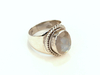 Silver Ring Moonstone