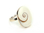 Bague argent coquillage
